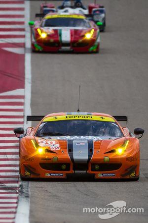 #90 8 Star Motorsports Ferrari 458 Italia: Gianluca Roda, Paolo Ruberti, Jeff Segal
