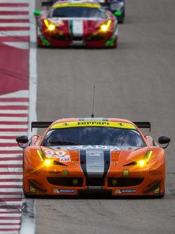 #90 8 Star Motorsports Ferrari 458 İtalya: Gianluca Roda, Paolo Ruberti, Jeff Segal