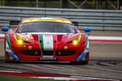 #81 AF Corse Ferrari 458 Italia: Steve Wyatt, Michele Rugolo, Andrea Bertolini