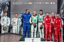 绅士车手领奖台:组别冠军伊恩·罗吉,朱利安·威斯特伍德,第二名亚历山大·马茨舒尔,弗兰克·史密科勒,第三名斯蒂芬·厄尔,弗雷迪·克莱默,兰姆·塔尔波特