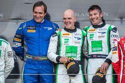 绅士车手领奖台:组别冠军伊恩·罗吉,朱利安·威斯特伍德