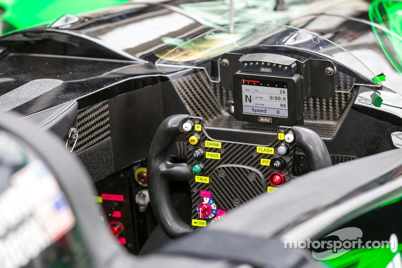 Extreme Speed Motorsports HPD ARX-03b steering wheel