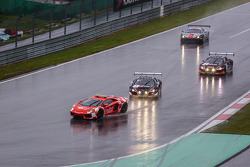 Safety Car devant #1 Belgian Audi Club Team WRT Audi R8 LMS Ultra: Cesar Ramos, Laurens Vanthoor, Christopher Mies