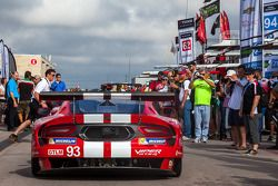 #93 SRT Motorsports Dodge Viper SRT: Jonathan Bomarito, Kuno Wittmer