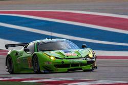 #57 Krohn Racing Ferrari 458 Italia: Tracy Krohn, Nic Jonsson, Ben Collins