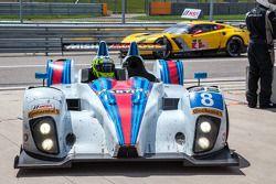 #8 Starworks Motorsport ORECA FLM09: Mirco Schultis, Renger van der Zande