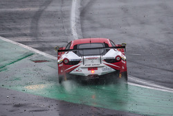 #42 Sport Garage Ferrari 458 Italia: Gilles Vannelet, Paul Surand, Michael Petit