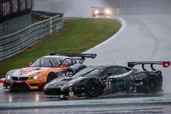 #11 Kessel Racing 法拉利 458 Italia: 迈克尔·布隆尼斯泽维斯基, 亚历山德罗·博纳奇尼, 马尔科·弗雷扎 和 #10 TDS Racing 宝马 Z4: 埃里克·克莱门特