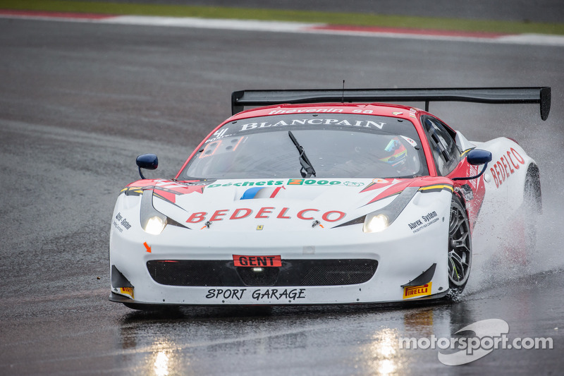 #41 Sport Garage 法拉利 458 Italia: 迈克尔·阿尔伯特, 贝纳德·德莱
