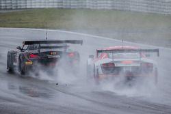 #15 Boutsen Ginion BMW Z4: Karim Ojjeh, Olivier Grotz, #1000 Audi Race Experience Audi R8 LMS Ultra: