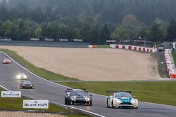 #44 Oman Racing Team Aston Martin Vantage GT3: Ahmad Al Harthy, Stephen Jelley, Michael Caine, #11 K