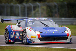 #17 Insightracing with Flex-Box Ferrari 458 Italia: Dennis Andersen, Martin Jensen