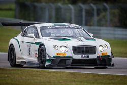 #8 M-Sport 宾利 宾利 Continental GT3: 杰罗姆·丹布罗西奥, 邓肯·塔皮, 安东尼·勒克勒克