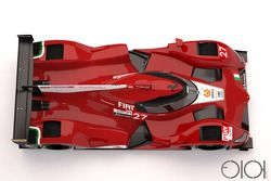 Ferrari LMP1 concept par Oriol Folch Garcia
