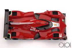 Ferrari LMP1, Designstudie von Oriol Folch Garcia