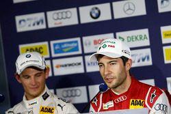 宝马RMG车队宝马M4 DTM车手马可·维特曼,奥迪菲尼克斯车队奥迪RS 5DTM车手迈克·罗肯菲勒