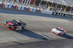 James Buescher and Kyle Larson