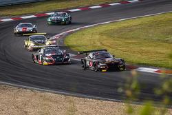 #15 Boutsen Ginion BMW Z4: Karim Ojjeh, Olivier Grotz, #1 Belgian Audi Club Team WRT Audi R8 LMS Ultra: Cesar Ramos, Laurens Vanthoor, Christopher Mies