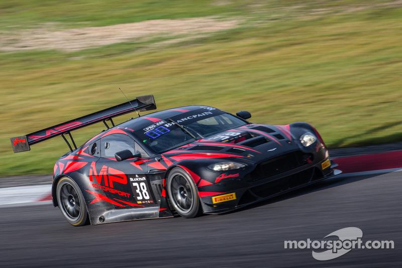 #38 MP Motorsport AMR 阿斯顿马丁 Vantage GT3: 马克·普尔, 理查德·阿布拉, 乔·奥斯博尔内