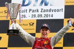Race winner Mattias Ekström, Audi Sport Team Abt Sportsline, Audi RS 5 DTM
