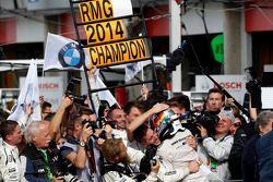 Second place Marco Wittmann, BMW Team RMG BMW M4 DTM