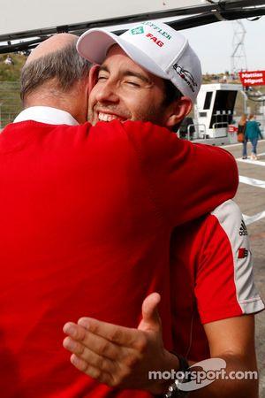 Mike Rockenfeller, 菲尼克斯奥迪运动车队,奥迪 RS 5 DTM,和奥迪赛车运动总监沃夫冈·乌尔里希博士