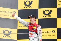 Le vainqueur Mattias Ekström, Audi Sport Team Abt Sportsline, Audi A5 DTM