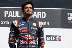 Race winner Carlos Sainz Jr.