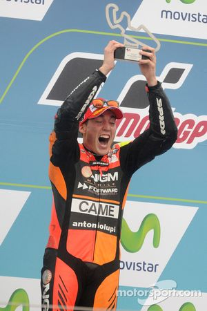 Second place Aleix Espargaro, NGM Forward Racing Yamaha