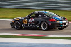 #50 BERG Racing Porsche Cayman: Conrad Grunewald, Greg Strelzoff