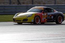 #31 Bodymotion Racing Porsche Cayman: Jason Rabe, Lukas Johnson