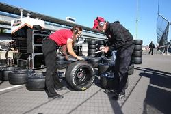 Firestone technicians