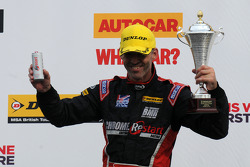 Ronde 26 3e plaats Alain Menu, Chrome Edition Restart Racing