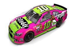 Livrée de Danica Patrick pour Breast Cancer Awareness