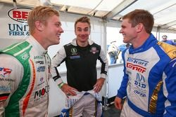 Spencer Pigot, Jay Howard e Conor Daly