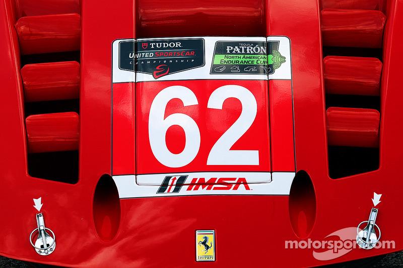 #62 Risi Competizione 法拉利 F458