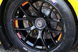 Corvette lastik detayı