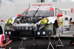 #911 Porsche Kuzey Amerika Porsche 911 RSR