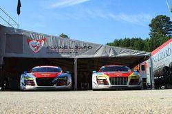 Flying Lizard Motorsports garaj alanı