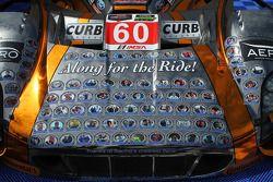 #60 Michael Shank Racing ile Curb/Agajanian Ford EcoBoost/Riley için özel renk düzeni