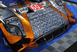 Livrée spéciale sur la n°60 du Michael Shank Racing