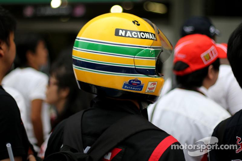 Fanático de Ayrton Senna