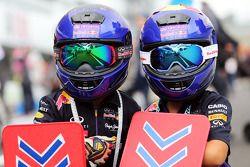 Jonge Red Bull Racing fans