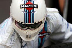 Williams F1 Team mecanicien tijdens pitstoptraining