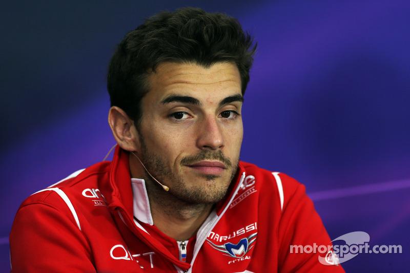 Bianchi, der in Monaco erstmals WM-Punkte für sich und Marussia holte, ...