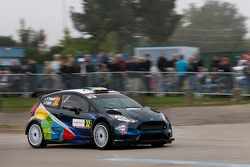Pontus Tidemand en Patrik Barth, Ford Fiesta R5