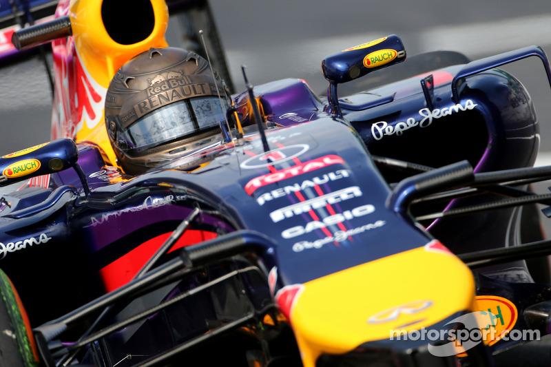 Sebastian Vettel en el GP de Japón 2014 (Red Bull)*