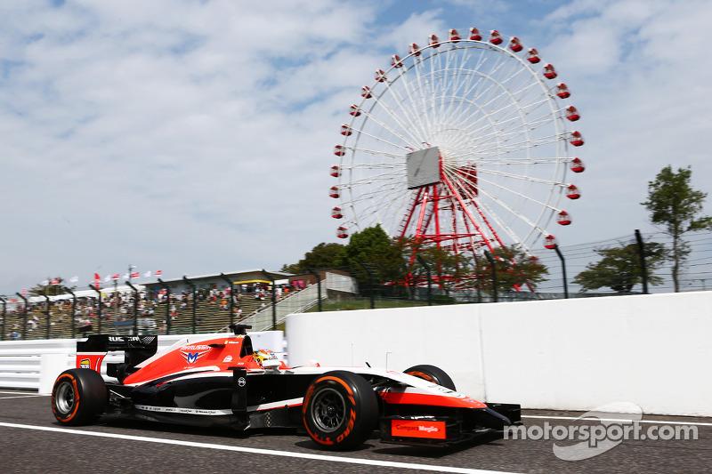 Freitag: Bianchi nimmt das Wochenende mit seinem Marussia MR03 in Angriff