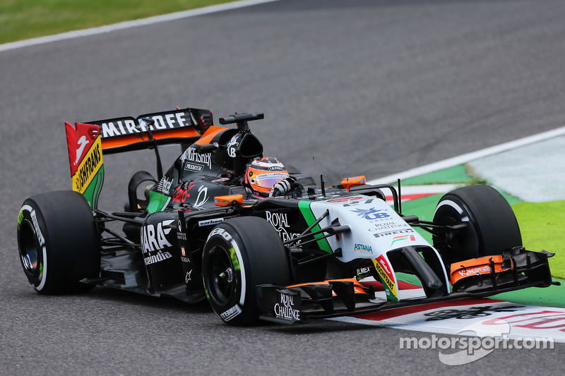 Nico Hulkenberg, Force India VJM07