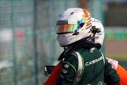 Kamui Kobayashi, Caterham crashed out of FP2